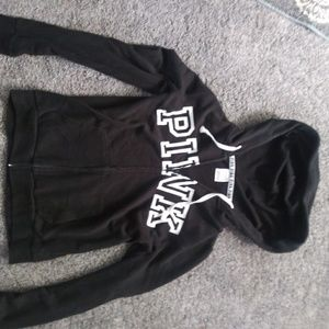 Perfect condition pink zip up hoodie